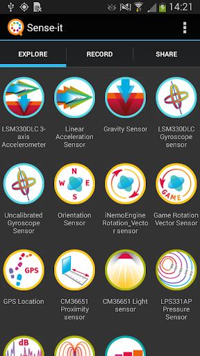 Sense-it sensors
