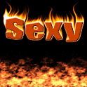 Burning Sexy flames Live wallp logo