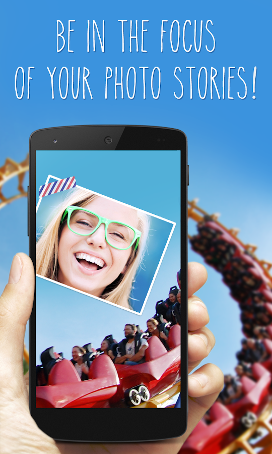 phoTWO - selfie collage camera- screenshot