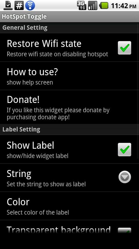 HotSpot Toggle- screenshot
