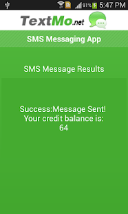 TextMo SMS- screenshot thumbnail