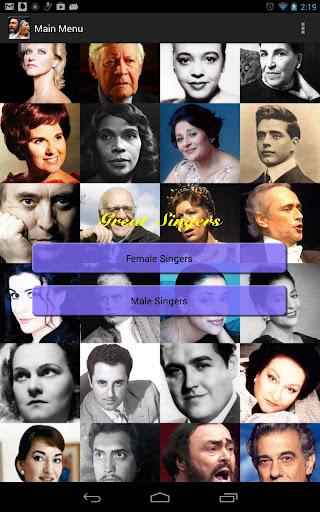 Great Singers