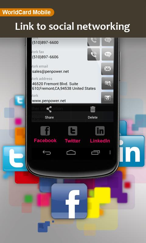 WorldCard Mobile Lite- screenshot
