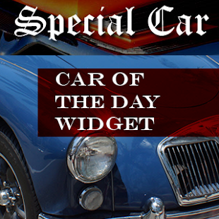 Special Car of the Day Widget- screenshot thumbnail