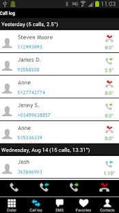Fast Dialer- screenshot thumbnail