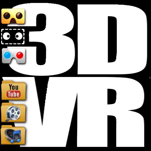 3D VR Player Cardboard PRO LOGO-APP點子
