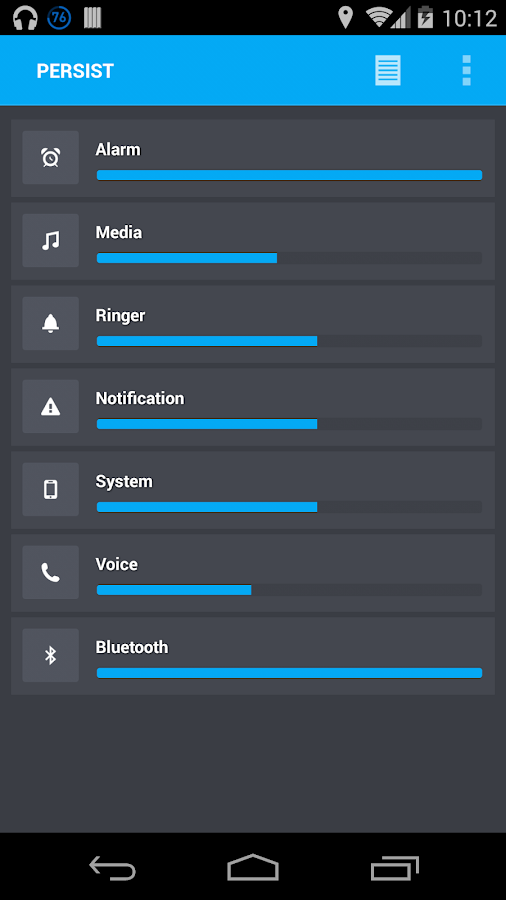 Volume Control + - screenshot
