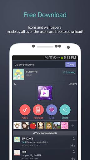 Creat Icon - Icon Play скачать на планшет Андроид