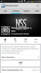 Next Sport Star Live Radio TV- screenshot thumbnail