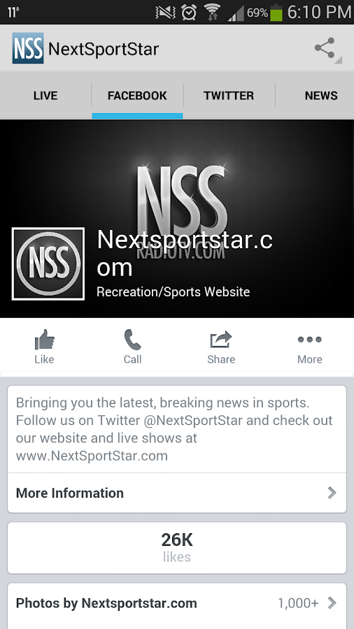 Next Sport Star Live Radio TV- screenshot