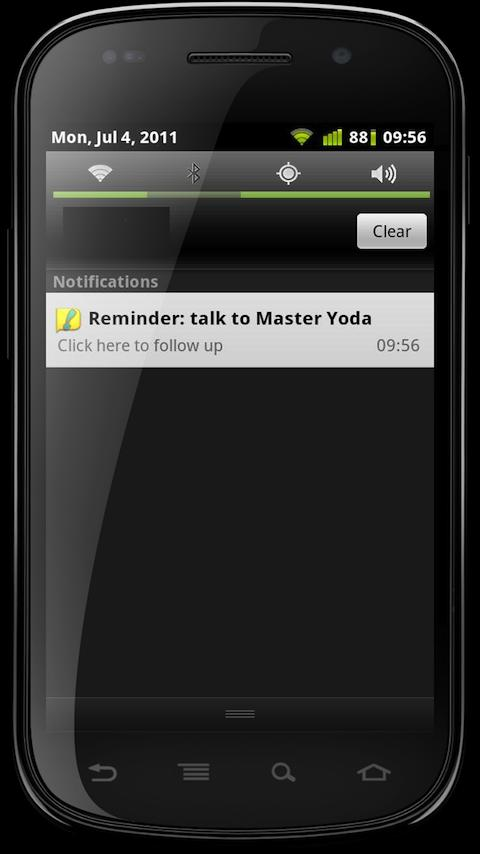 PAKOOMBA Call Reminder - screenshot