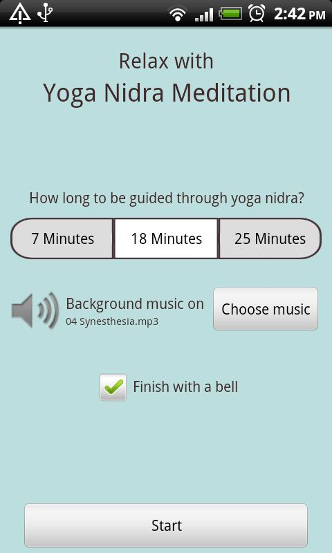 Yoga Nidra Meditation (Free) - screenshot