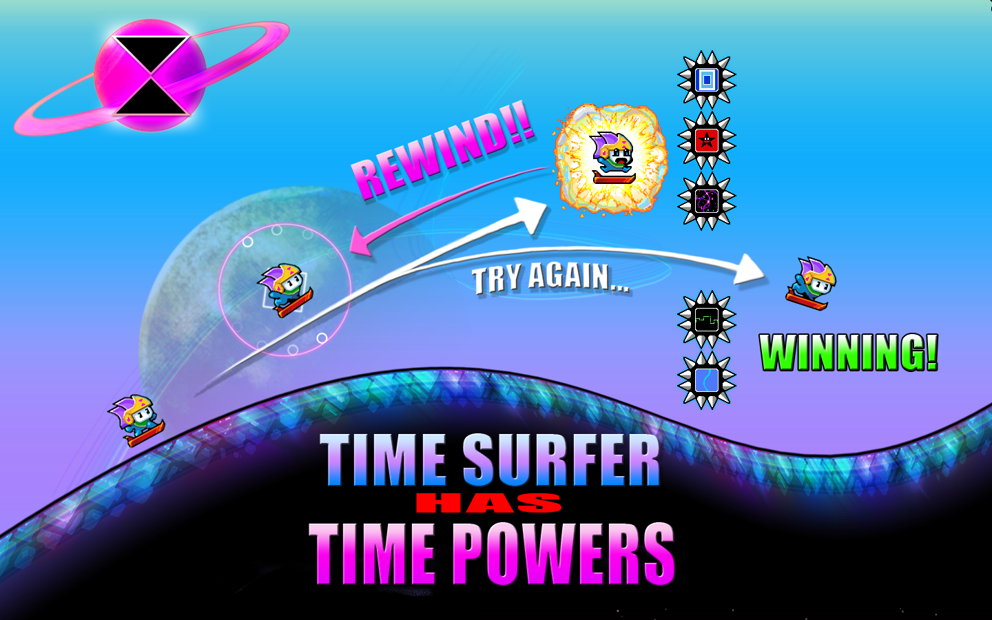 Time Surfer- screenshot