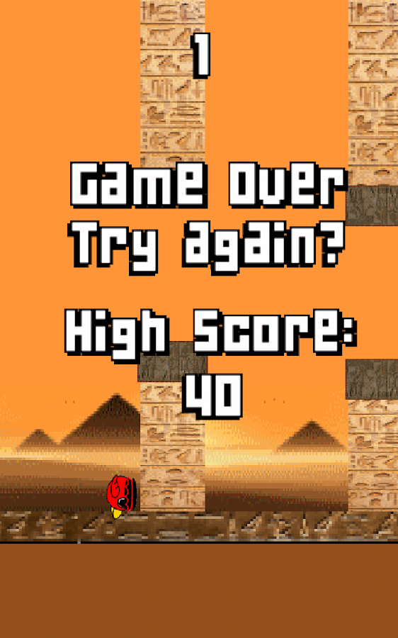 Clumsy Floppy Bird- screenshot
