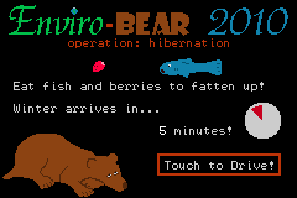 Enviro-Bear 2010- screenshot