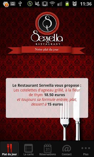 【免費生活App】Restaurant Servella-APP點子