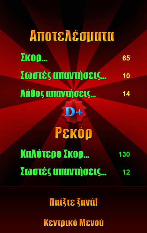 Κουίζ: Διάσημοι Έλληνες - screenshot