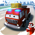 Little Fire Truck in Action icon