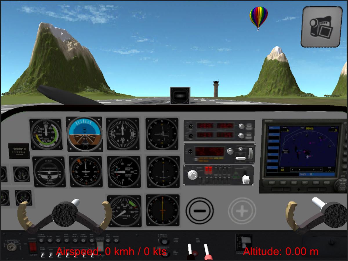 Flight Simulator Cezna 172 - screenshot