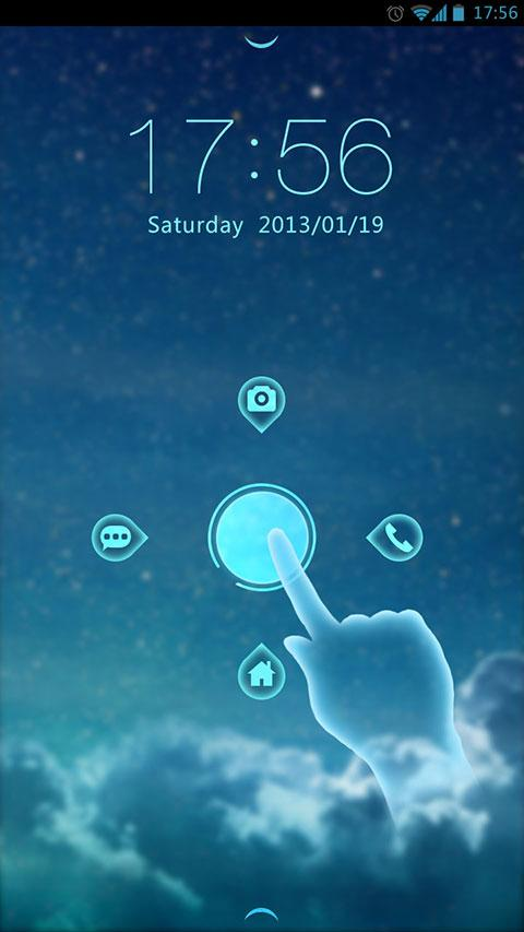 (FREE) STARRY GO BIG THEME - screenshot
