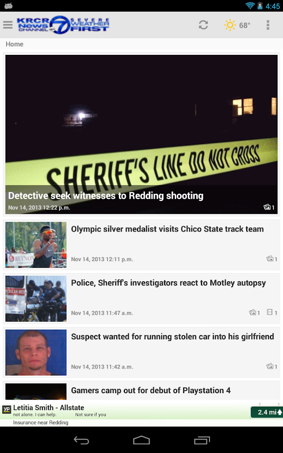 KRCR News7 - screenshot