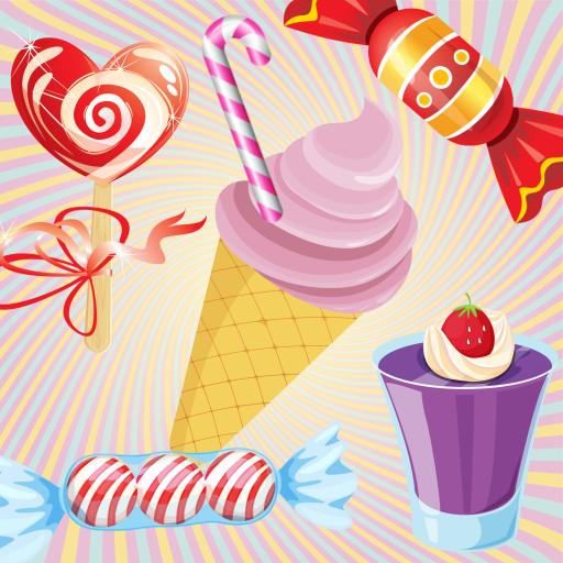 Candy 幼児のための記憶ゲーム ! 教育 LOGO-玩APPs