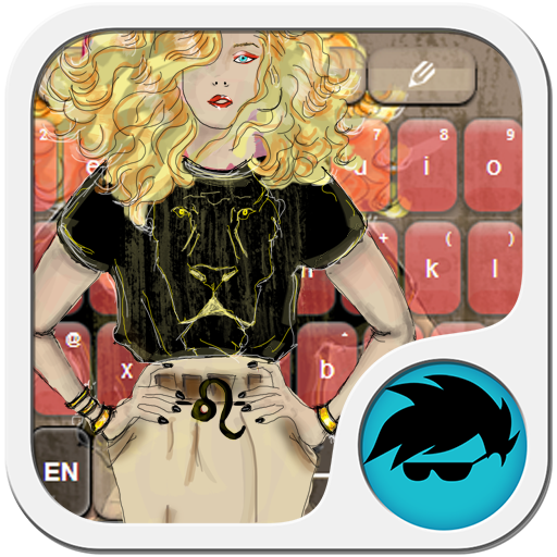 少女獅子座鍵盤 LOGO-APP點子
