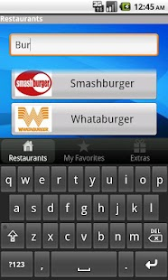 Fast Food Calorie Watchers- screenshot thumbnail