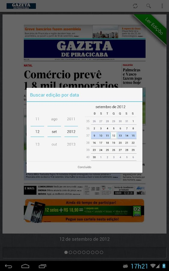 Gazeta de Piracicaba - screenshot