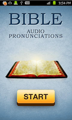 Bible Audio Pronunciation Lite - screenshot