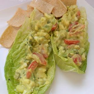 Egg Salad Made with Avocado