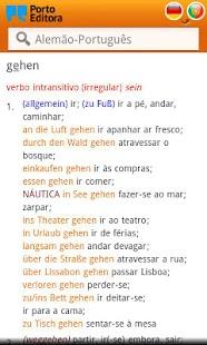 Dicionário Alemão-Português- screenshot thumbnail