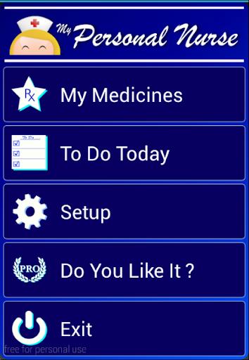 MyPersonalNurseL Pill Reminder