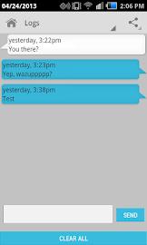 Hide Text SMS & Calls Screenshot 4