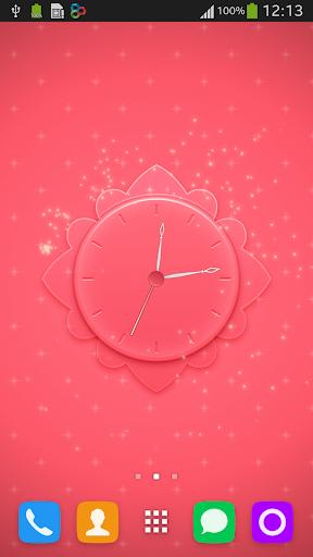 Pink Clock Skin