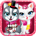 Cute Kitten Dress Up icon