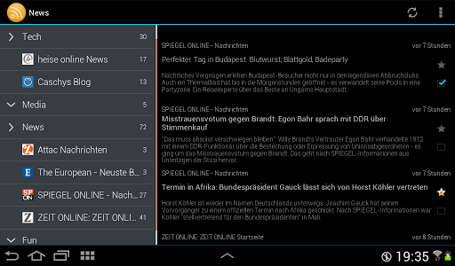 ownCloud News Reader v0.6.6
