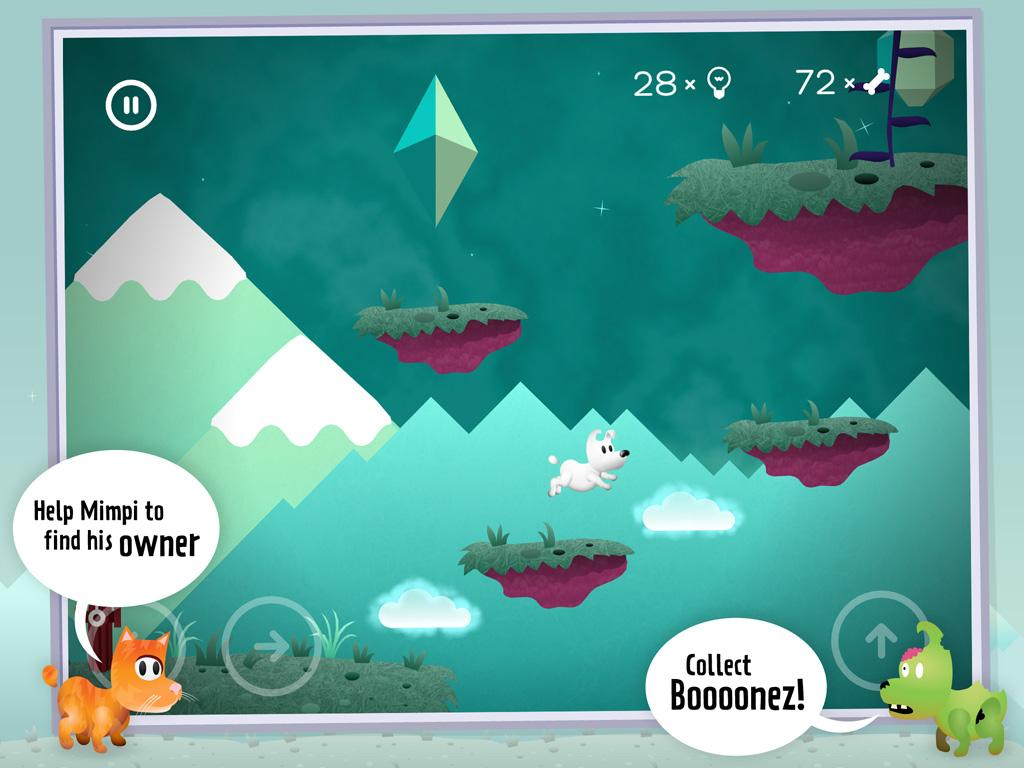 MIMPI 2d platformer- screenshot