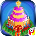 Christmas Cake Maker–kids game icon