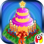 Christmas Cake Maker–kids game
