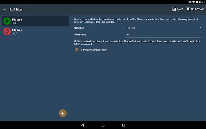 FolderSync Pro Android 13