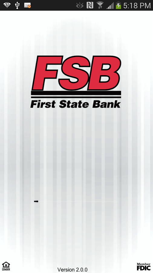 First State Bank of Nashua- screenshot