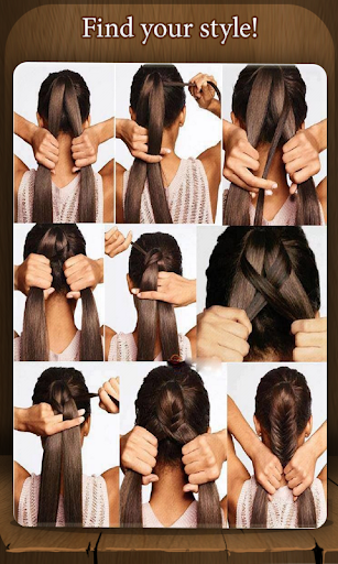 说明创建发型