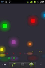 Pixel Rain Live Wallpaper Screenshot 2