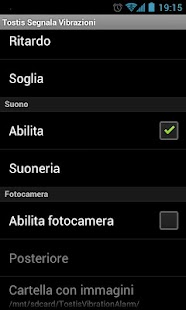 Tostis Vibration Alarm - screenshot thumbnail