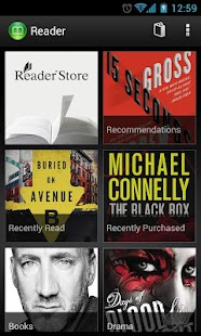 Reader - eBooks from Sony - screenshot thumbnail