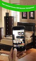 Screenshot of Transparent Wallpaper Camera