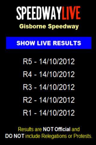 Speedway Live - screenshot