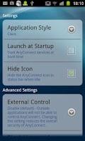 Screenshot of Samsung AnyConnect (Legacy)