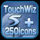 Touchwiz5 CM7 Theme +250icons
